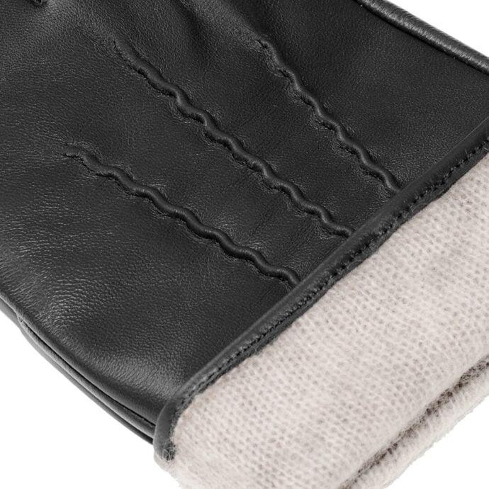czarne rÄ™kawiczki z ociepleniem