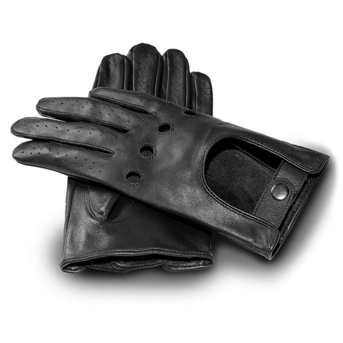 czarne rÄ™kawiczki samochodowe