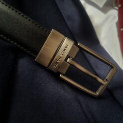 czarny pasek do spodni