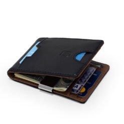 dwukolorowy portfel z ochronÄ… RFID
