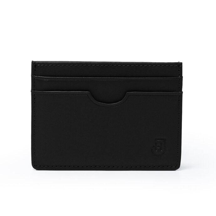czarny card holder