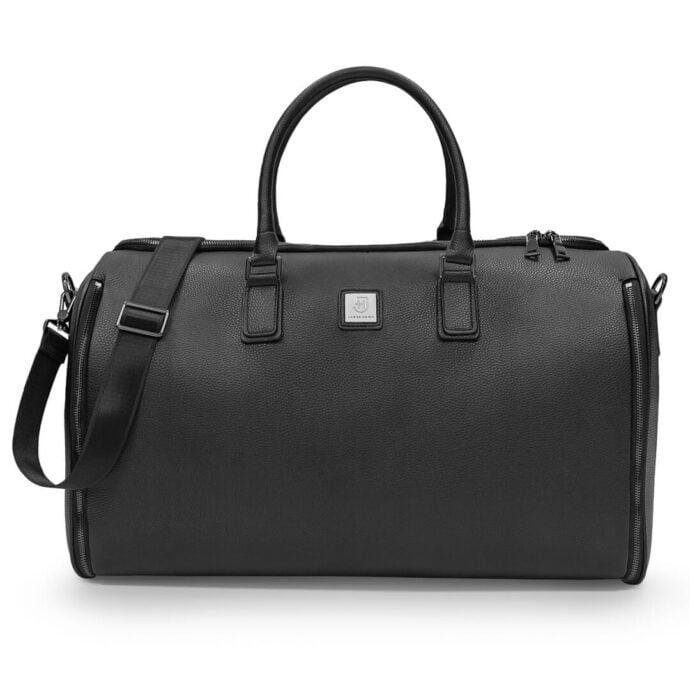czarna torba weekendowa